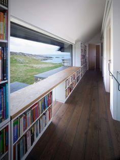 réhabilitation baptisée « The White House », sur l'île de Coll en Ecosse // studio WT Archi
