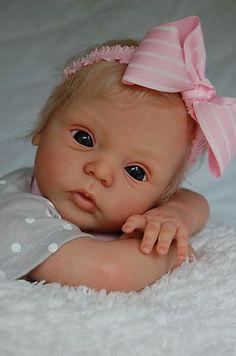 Reborn Doll Baby Livia by Gudrun Legler Limited Edition 351 888   eBay