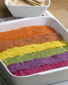 Rainbow Hummus Recipe by Tasty