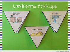 Landforms Posters and Fold-Ups $