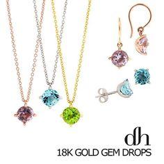Dinny Hall 18k Gold Gem Drops back instore!