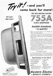 Western Electric 755a