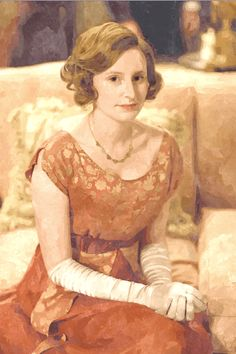 edith downton abbey colors - Beautiful color schemes can come from anywhere!