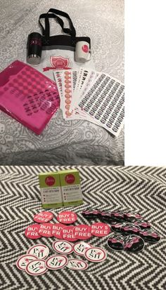 Mixed Items: Perfectly Posh Lot Of Tote Bag, 2000 Portal Stickers, Tumbler, Mug, Businesscard -> BUY IT NOW ONLY: $60 on eBay!