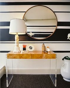 stripe up your walls