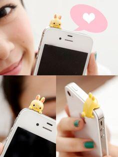 Rabbit Earphone Plug $8.99