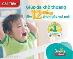 Bỉm Pampers- Sự lựa chọn của các bà mẹ thông thái | Chăm sóc trẻ sơ sinh tốt