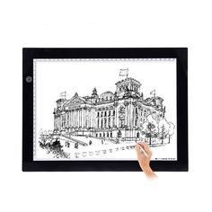 Office & School Supplies Notebooks & Writing Pads Alert A4 Led Stencil Board Light Box Artist Tracing Drawing Copy Plate Table Gift Comfortable Feel