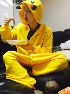 Pikachu #wonho #monstax #shinhoseok