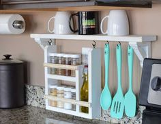 'Cause an organized kitchen is a happy kitchen.