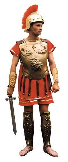 Roman Armour Gold Wash $52