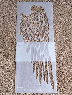angel wings art stencil how to Stencils, Stencil Diy, Feather Stencil, Diy Angel Wings, Angel Wings Painting, Christian Wall Decor, Diy Angels, Diy And Crafts, Arts And Crafts