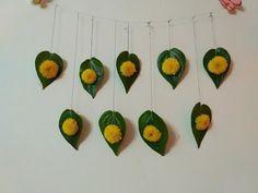 Puja decoration for navratri durga maa puja - YouTube