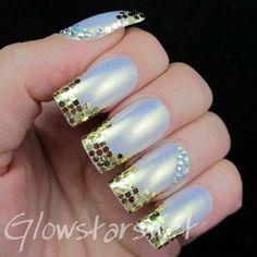 #polish #nails #nailart #opal #pearl #frenchmani