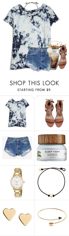 """""""A lot of Arkansas is flooded but on the bright side school was cancelled"""" by southernstruttin ❤ liked on Polyvore featuring Current/Elliott, Kate Spade and Lipsy"""