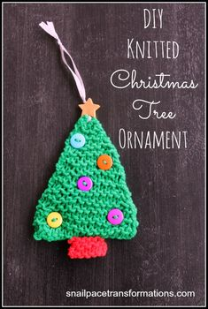 Christmas bell pin or ornamentknitting pattern by debbie mcgrath diy knitted christmas tree ornament dt1010fo