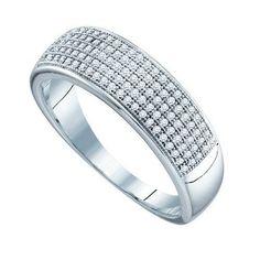 1/3CT-Diamond MICRO-PAVE MENS BAND