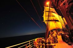 Celestial Navigation on the CGC Eagle (USCG)