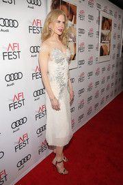 Nicole Kidman Beaded Dress