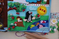 """Купить Развивающая игрушка """"Времена года с Кротиком"""", возраст 2+ - разноцветный, развивающая игрушка, планшет"""