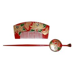 Japanese Traditional Hair decoration set. Japanese Art, Collectibles... ❤ liked on Polyvore featuring accessories, hair accessories, jewelry, asian, decor and antique hair accessories