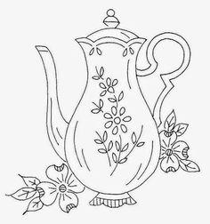 Patrones de Bordados, Diseño para mandiles de mesa , Patrones para Bordados, Embroidery Patterns, Embroidery Designs