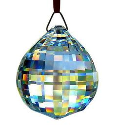 40mm Clear Disco Ball Chandelier Crystal Prism Asfour 30% Lead Crystal