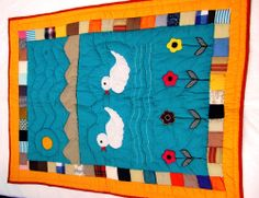 Handmade #baby #quilts in Two Duck #Design | Adi Boutique ... : baby quilts online - Adamdwight.com