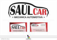 Projeto logo / Identificação Visual - Saul Car