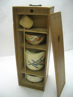 Vintage Japanese Tea Ceremony Set.