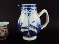 Marked, Beautiful Chinese 18thC Antiques Porcelain Oriental Blue White Jug  | eBayVERY GOOD Condition overall, £51