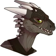 more Argonian by Pa1nful.deviantart.com on @deviantART - This is almost exactly what my character looks like!