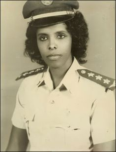 Asli Asli Hassan Abade was the first and so far only female pilot in the Somali Air Force (SAF).