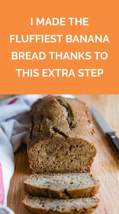 Looking to bake banana bread to celebrate National Banana Bread Day on February This one effortless technique can make your banana bread loaf better. Make Banana Bread, Baked Banana, Bread Dipping Oil, Apple Pie Jam, Joy Of Cooking, Bread Making, How To Make Tea, Tea Cakes, Baking Tips