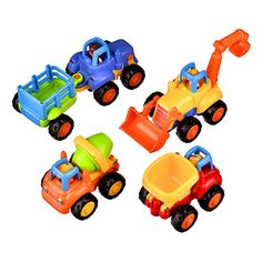 Push and Go Pull Back Vehicles with Lasting Friction Power for Baby Toys 18 Months Tips From Early Educational Experts:. Toddler Boy Toys, Baby Toys, Play Vehicles, 2 Year Olds, Power Cars, Learning Toys, Educational Toys, 18 Months, Tractors