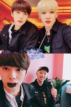 Monsta X Wonho & Hyungwon #monstax #kpop #elizawerner