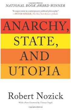 Anarchy, State, and Utopia by Robert Nozick http://www.amazon.com/dp/0465051006/ref=cm_sw_r_pi_dp_95Lxub0EPZ4YG