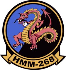 HMM-268: Marine Medium Helicopter Squadron 268, Camp Pendleton Marine Corps Bases, Second Lieutenant, Camp Pendleton, Military Pins, Gung Ho, Navy Marine, Usmc, Badge, Camping