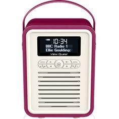 view quest retro mini black stylish dabdabfm radio u0026 bluetooth speaker pinterest bluetooth speakers dab dab and dab radio