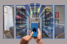 Smart Home – nhà thông minh trở thành xu hướng mới trên thị trường năm 2021 Diy Home Security, Wireless Home Security Systems, Security Products, Video Security, Security Tips, Home Automation System, Smart Home Automation, Internet Of Things, Shopping