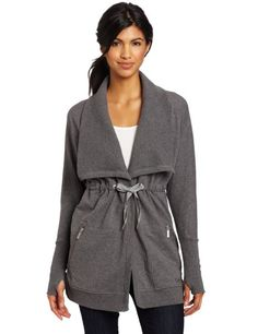 Calvin Klein Performance Women's Zipper Wrap: Clothing