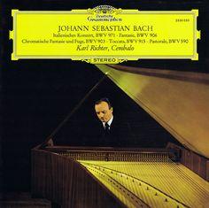Bach Italian Concerto • Fantasie • Chromatic Fantasy and Fugue • Toccata • Pastorale - Richter Deutsche Grammophon 1