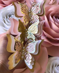 plástico 12,5 cm br 9 cm L 6 colores Decoración mariposas 12set