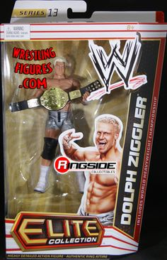 RINGSIDE COLLECTIBLES WWE Toys, Wrestling Action Figures, Jakks Pacific, Classic Superstars Action F: DOLPH ZIGGLERELITE 13WWE Toy Wrestling Action Figure