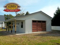 Metal buildings shops sheds and residential metal garage buildings - Check Out THE PICTURE for Lots of Tips and Ideas. Metal Shop Building, Building A Garage, Building Layout, Building Plans, Pole Buildings, Backyard Buildings, Shop Buildings, Barn Pool, Backyard Barn