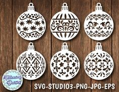 CHRISTMAS BALLS in SVG Pack Christmas decorations, Christmas ornamet stencil, Christmas decorations, Svg files for Cricut and Silhouette Christmas Globes, 1st Christmas, Christmas Balls, Christmas Crafts, Christmas Ornaments, Christmas Stencils, Christmas Templates, Graphic Design Programs, Christmas Landscape