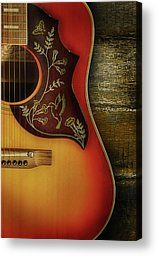 Guitar Canvas Prints - My first love Canvas Print by Karen Scrimes
