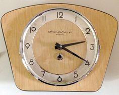 Horloge Murale - Formica - Grandchamp - Années 60
