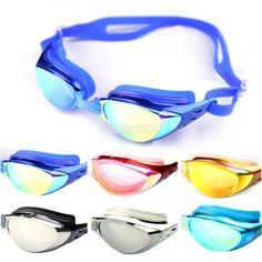 Schwimmbrille 1 Stück Schutzbrillen Brille Wassersport Schwimmen Tauchen Bunt | eBay