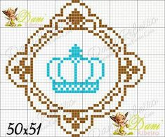 Cross Stitch Baby, Logos, Cross Stitch For Baby, Bear Graphic, Toddler Towels, Punto De Cruz, Objects, Princesses, Dressmaking